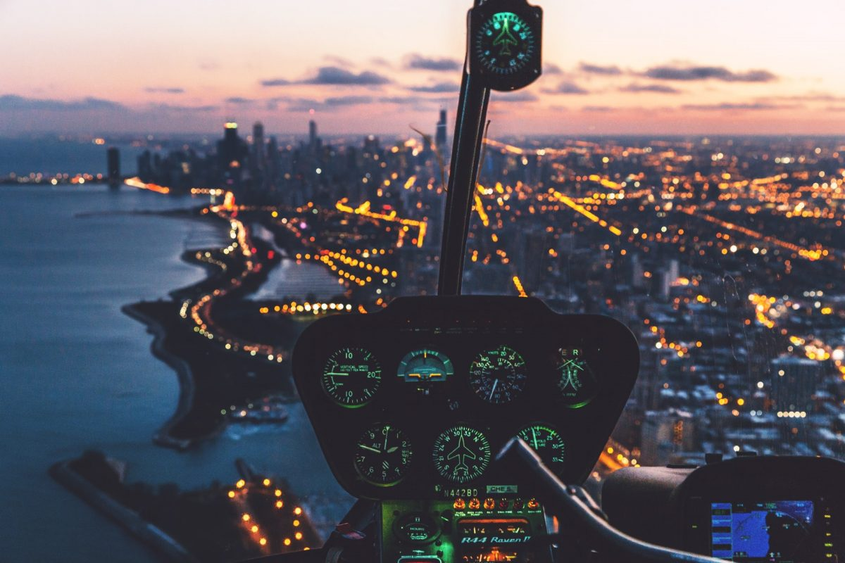 Helikoptere over sommerhuse